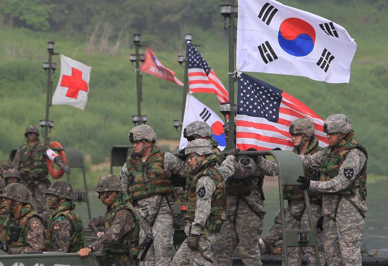 США оценят возможность передачи Южной Корее контроля над ее войсками
