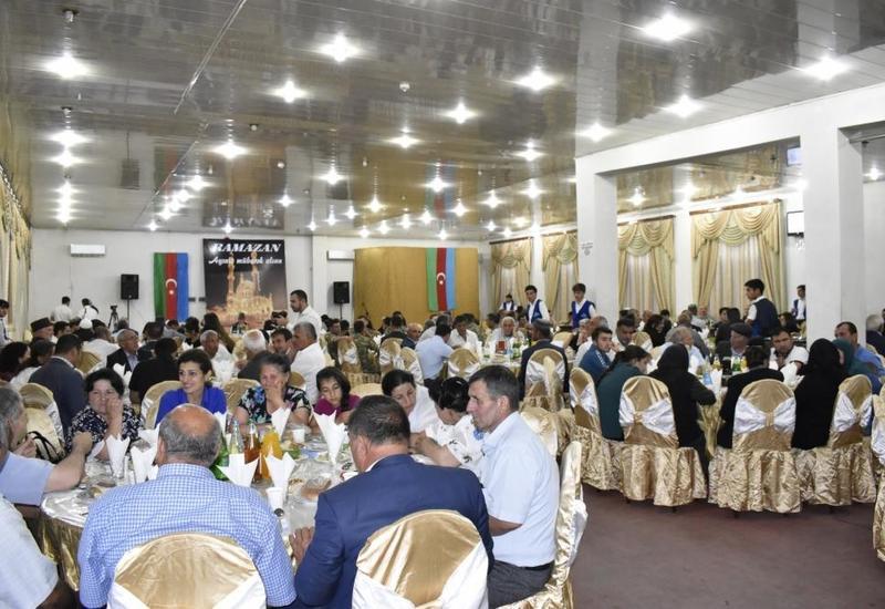Фонд Гейдара Алиева организовал ифтар в Зардабе и Тертере