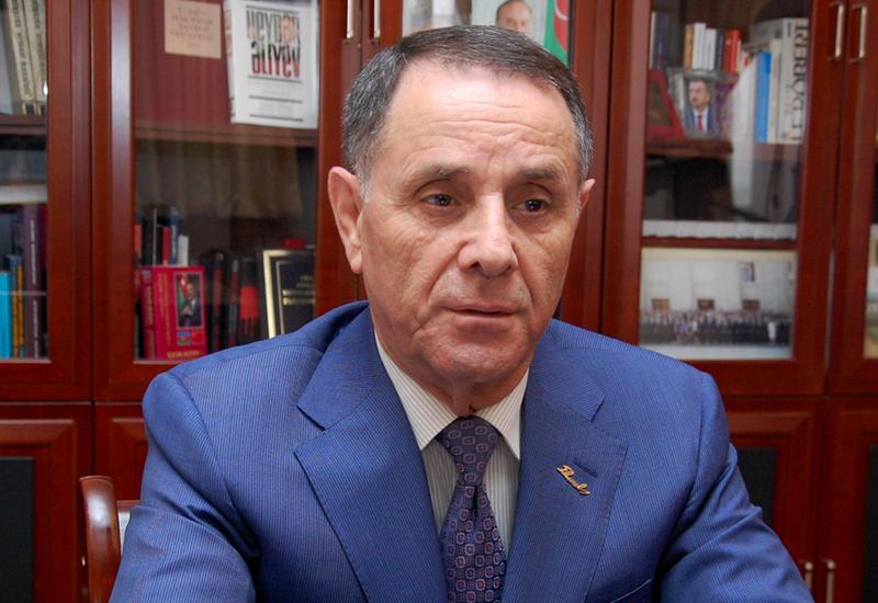 Новруз Мамедов на переговорах с президентом Туркменистана