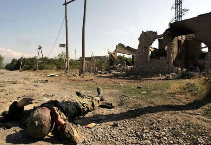 В Гадруте обнаружены тела еще 10 армянских солдат