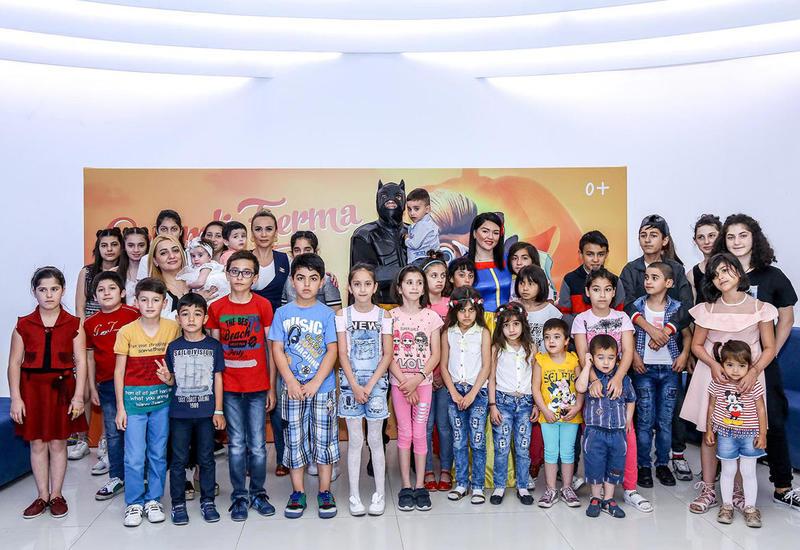 В CinemaPlus отметили Международный день защиты детей
