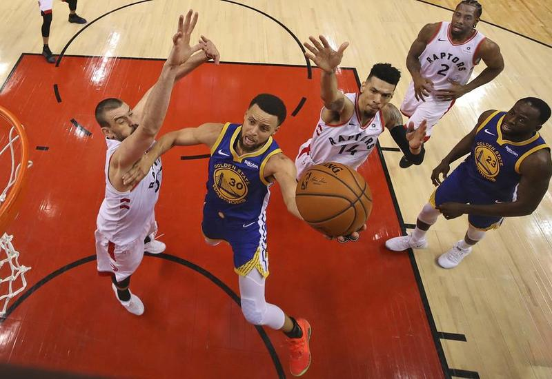 """""""Голден Стэйт"""" сравнял счет в финальной серии плей-офф НБА с """"Торонто"""""""