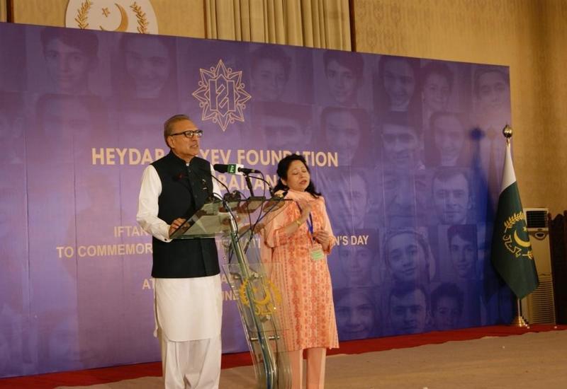 Президент и первая леди Пакистана приняли участие в мероприятии, проведенном для детей в Исламабаде при поддержке Фонда Гейдара Алиева