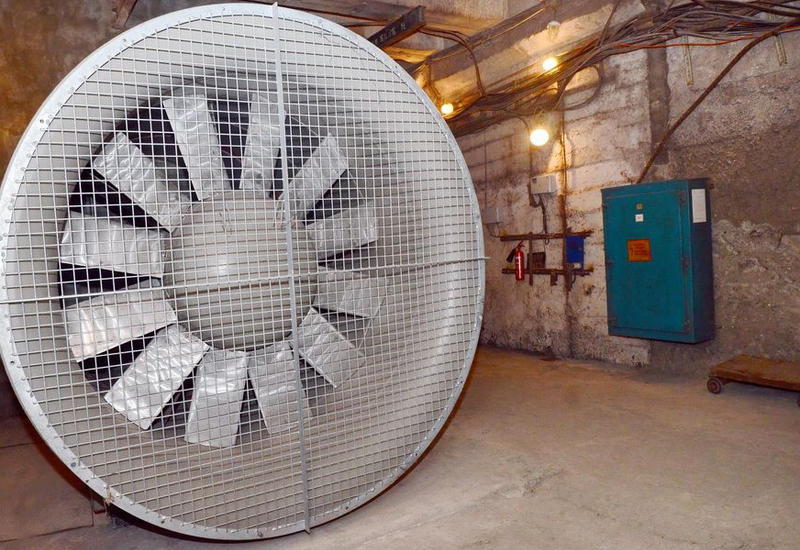 В бакинском метро установили новые вентиляционные системы