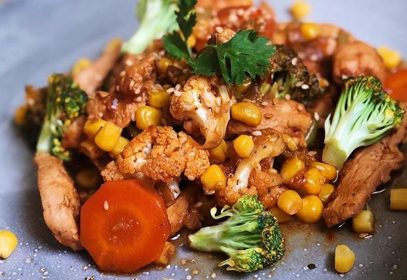 Вкусная курица с овощами - Рецепт от азербайджанского фуд-блогера