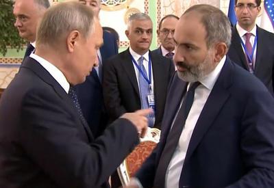 Пашинян перед встречей с Путиным снова пытается шантажировать Москву