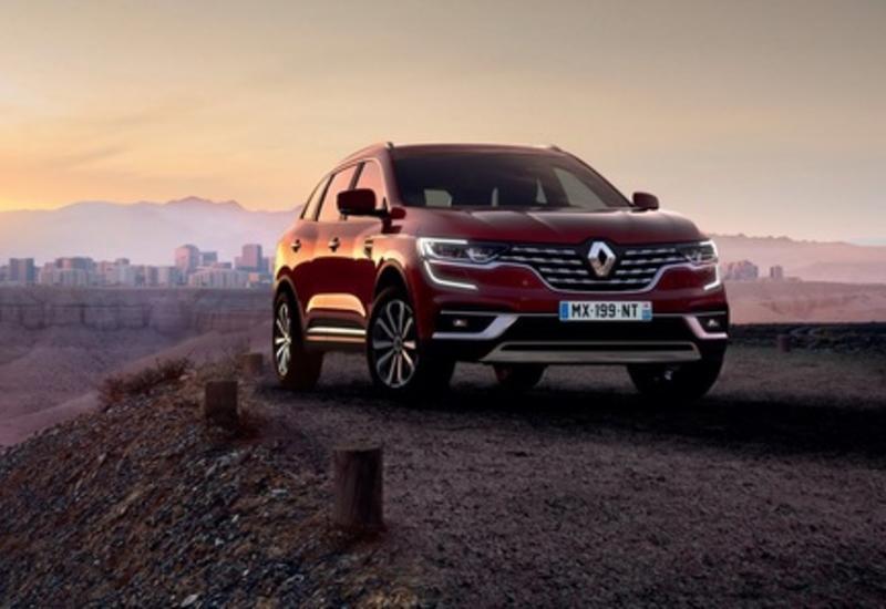Renault обновила кроссовер Koleos