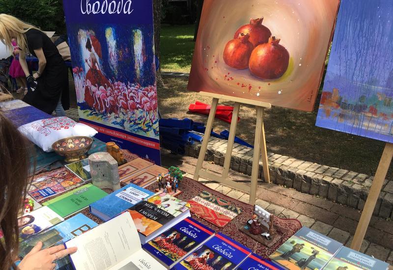 На фестивале в Киеве была представлена культура Азербайджана
