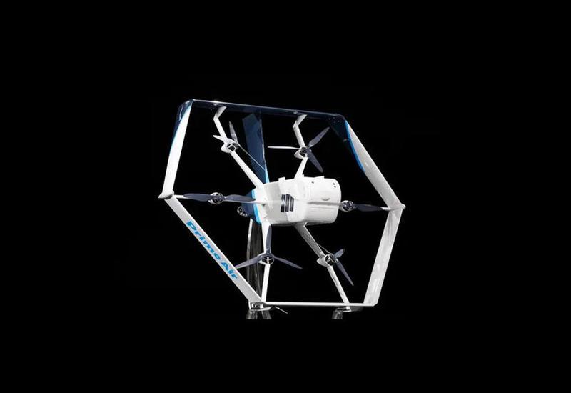Товары клиентам Amazon доставит летающий шестигранник