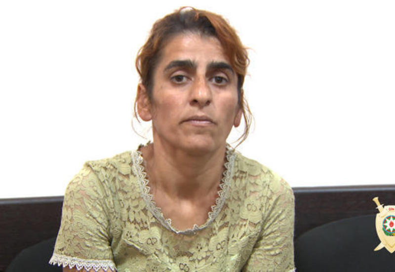 В Баку похитительница трехлетней девочки дала показания