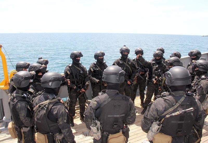 ВМС Азербайджана провели учения по стандартам НАТО