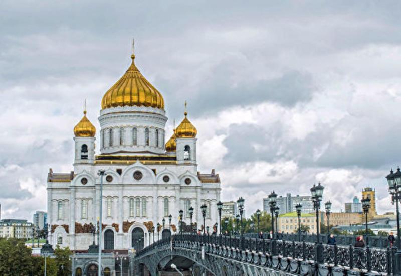 """В Москве """"заминировали"""" Храм Христа Спасителя, мавзолей и телебашню"""