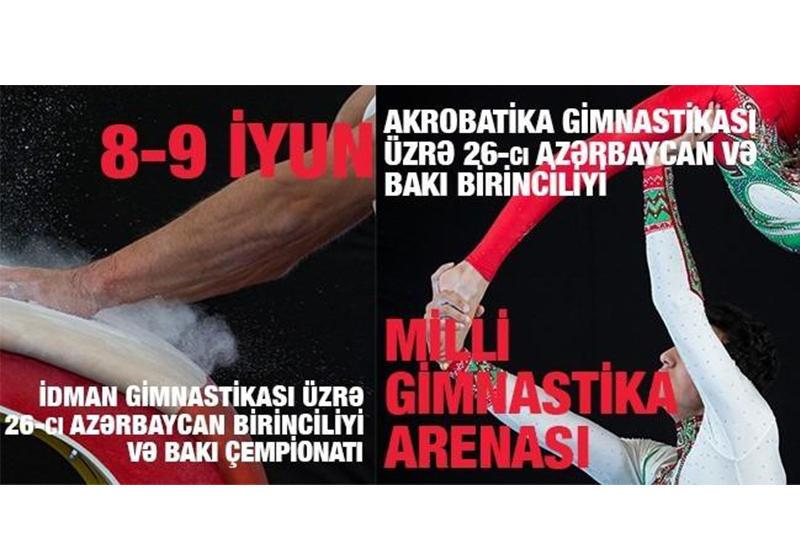 В Баку проходит второй день соревнований по спортивной и акробатической гимнастике
