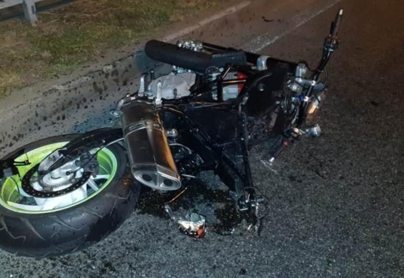 В Загатале разбился насмерть мотоциклист