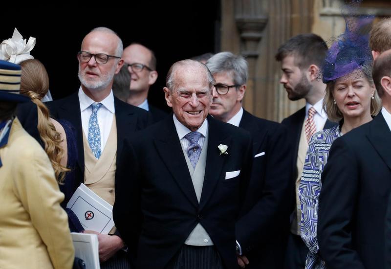 Супруг Елизаветы II празднует свое 98-летие