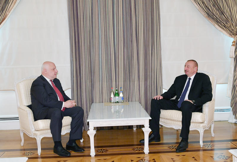 Президент Ильхам Алиев принял главу ПА ОБСЕ
