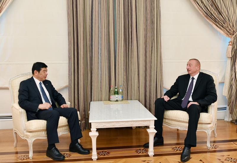 Президент Ильхам Алиев принял генерального секретаря ВТО