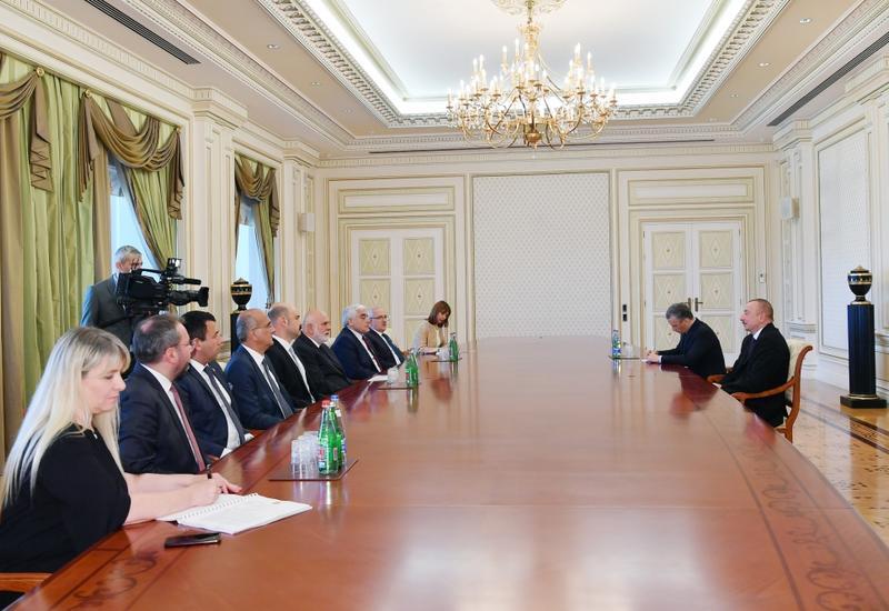 Президент Ильхам Алиев принял вице-спикера Великого национального собрания Турции