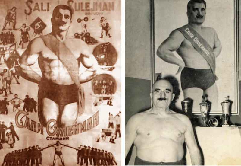 Сали Сулейман. История азербайджанского Геракла
