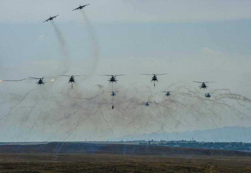 Совместные азербайджано-турецкие военные учения