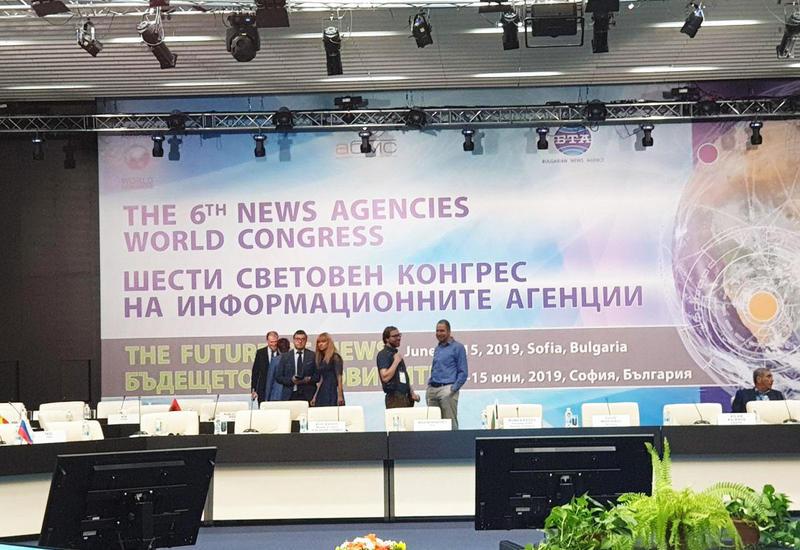 АМИ Trend принимает участие в 6-м Всемирном конгрессе информационных агентств