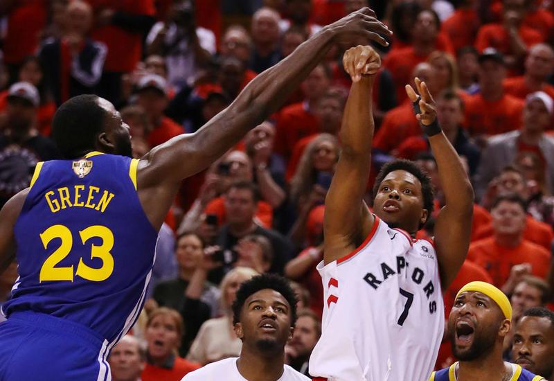 """Клуб """"Торонто Рэпторс"""" впервые в истории стал чемпионом НБА"""