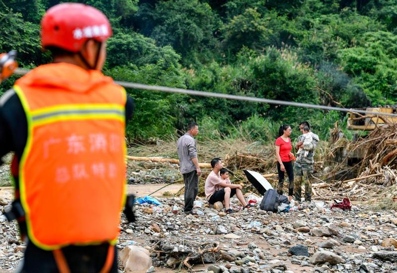 Наводнения в Китае унесли жизни 19 человек