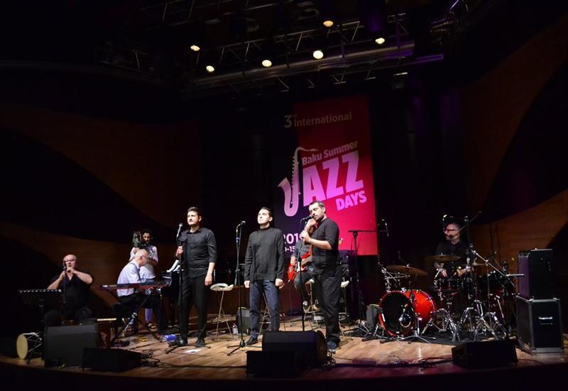 В Центре мугама прошел яркий концерт грузинской этно-джаз группы IRIAO
