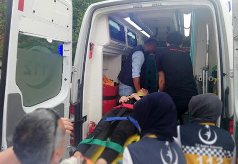 Antalyada qəza: 7 turist yaralandı