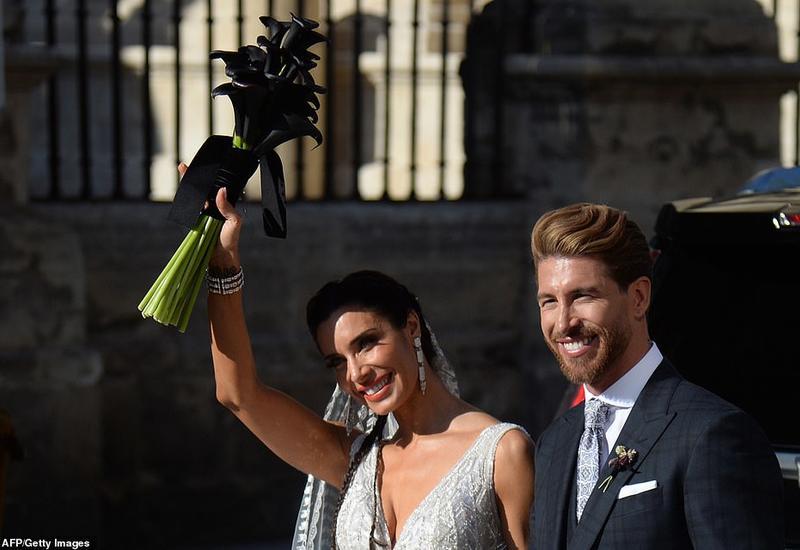 Защитник «Реала» Серхио Рамос женился