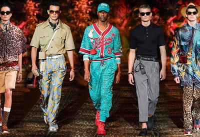 """Кружевной спортивный костюм для мужчин - Все о показе Dolce &amp; Gabbana <span class=""""color_red"""">- ФОТО</span>"""