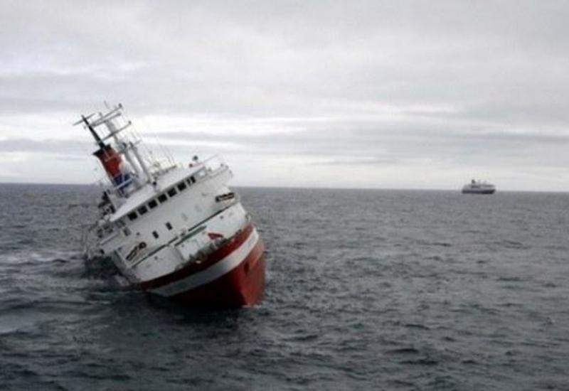 Bodrumda gəmi batdı