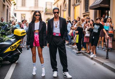 """Лучшие стритстайл-образы на Неделе моды в Милане <span class=""""color_red"""">- ФОТО</span>"""