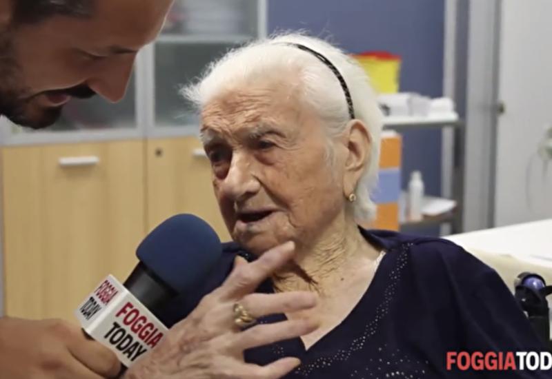 В Италии умерла старейшая жительница Европы