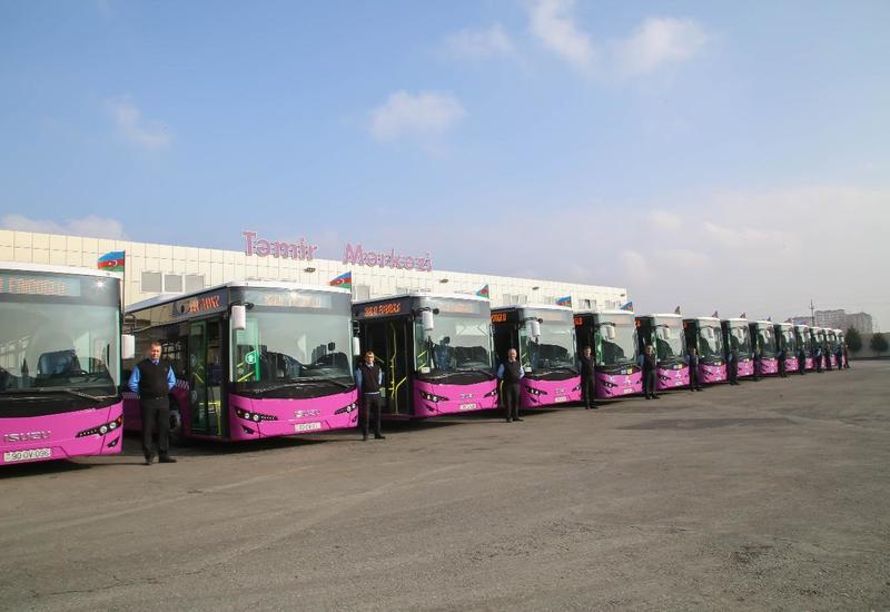 В Баку привезут сотни новых автобусов