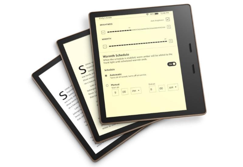 Amazon представил обновленную электронную книгу Kindle Oasis