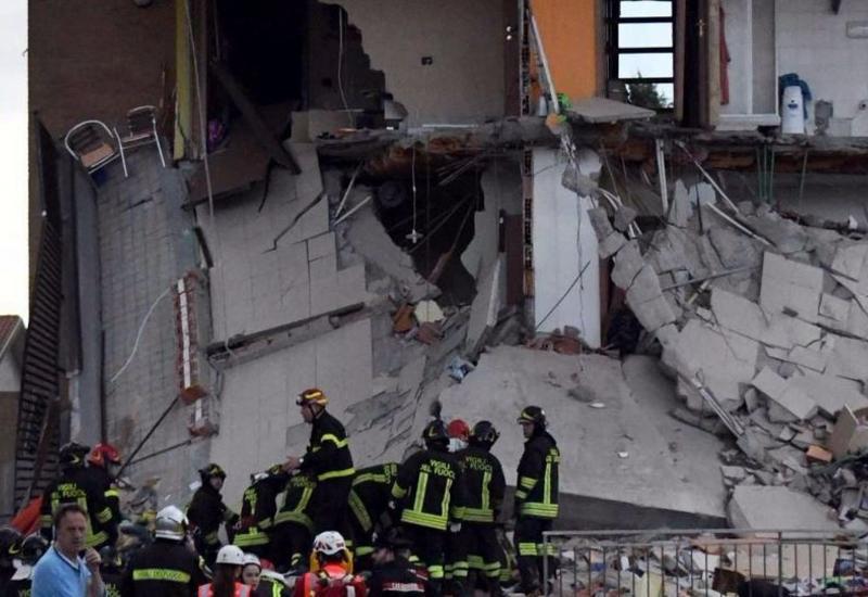 В Италии прогремел взрыв, есть пострадавшие