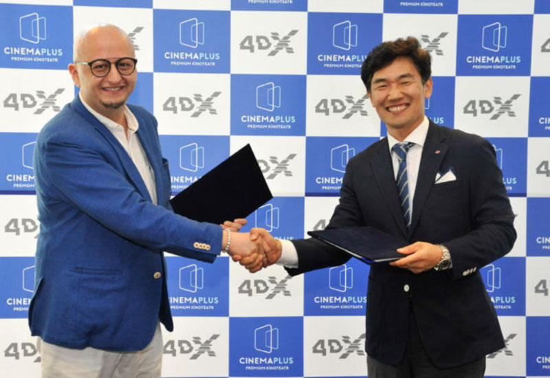 В Барселоне подписан контракт между CJ 4DPLEX и СinemaPlus по новой технологии 4DX
