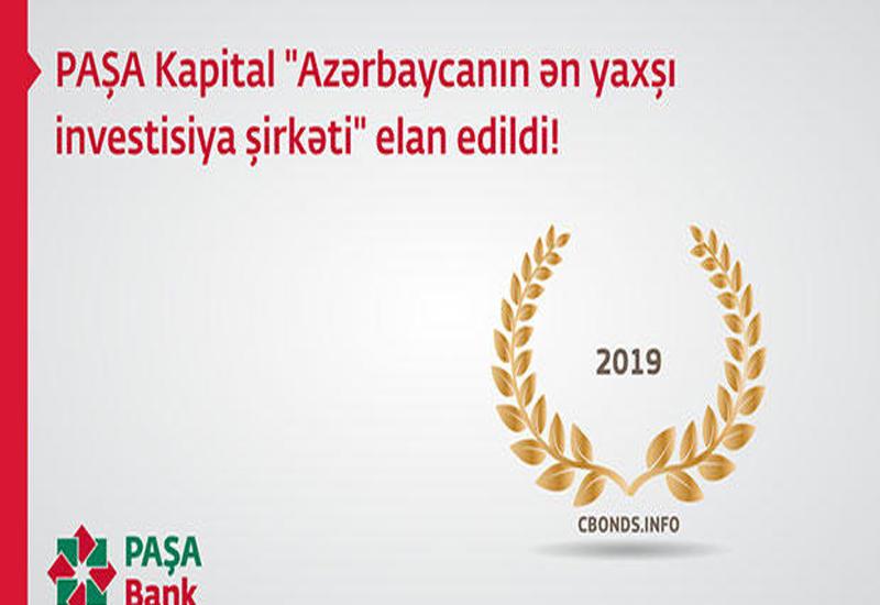 PASHA Capital признан «Лучшей инвестиционной компанией Азербайджана»