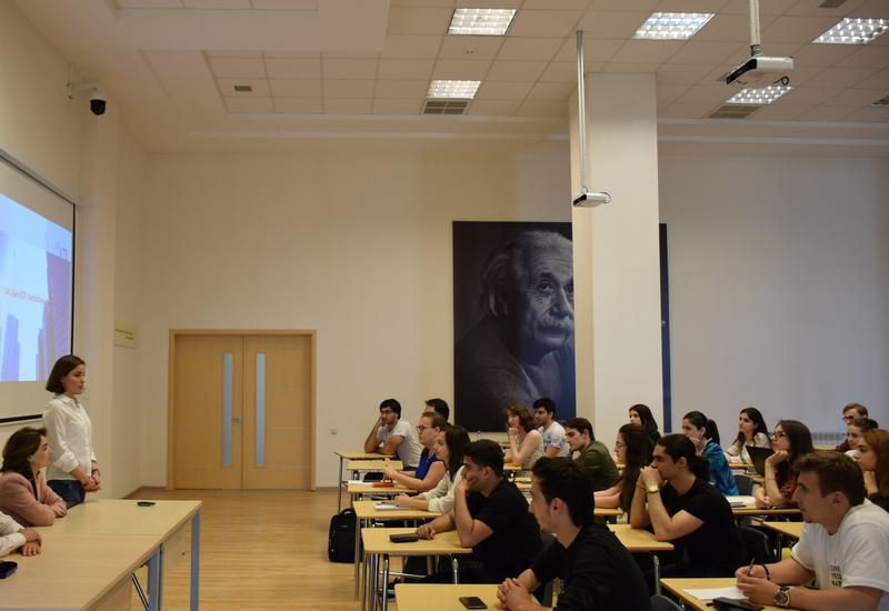 Сотрудники ВТБ (Азербайджан) встретились со студентами филиала МГУ в Баку