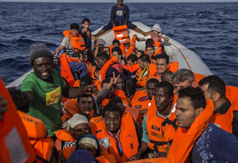 Ливийская береговая охрана спасла нелегалов
