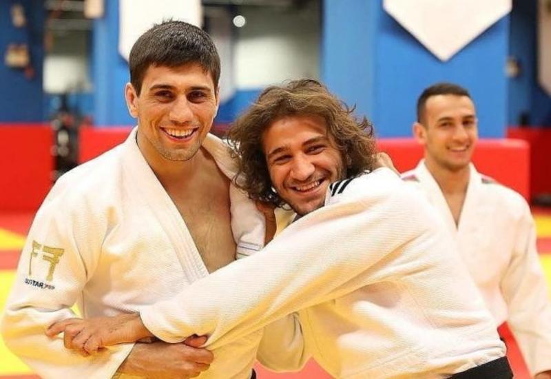 Два азербайджанских дзюдоиста прошли в четвертьфинал Евроигр в Минске