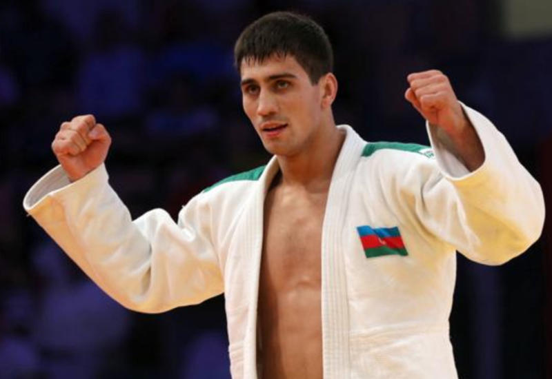 Азербайджанский дзюдоист одолел армянина и вышел в полуфинал II Европейских игр