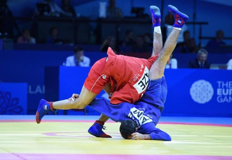 Азербайджанский самбист вышел в финал II Европейский игр
