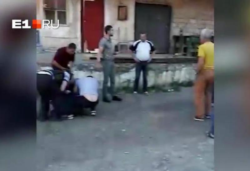 Появилось видео последствий драки на Урале с погибшим азербайджанцем