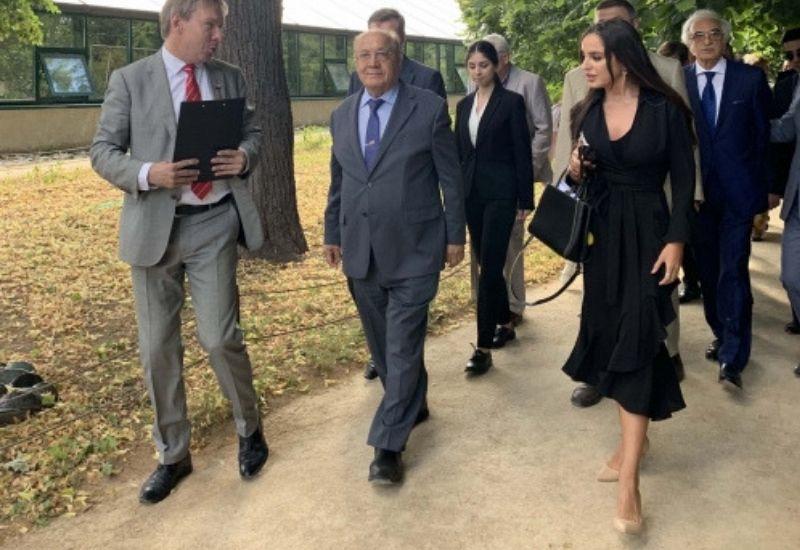 Вице-президент Фонда Гейдара Алиева Лейла Алиева приняла участие в Дне культуры Азербайджана в Москве