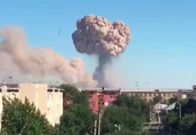 Азербайджанцы помогают пострадавшим при взрыве в Казахстане