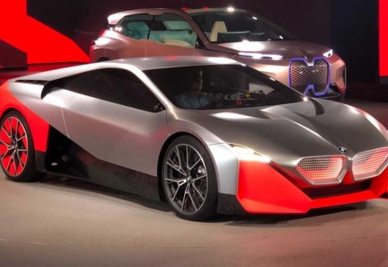 BMW продемонстрировала впечатляющие спорткары будущего