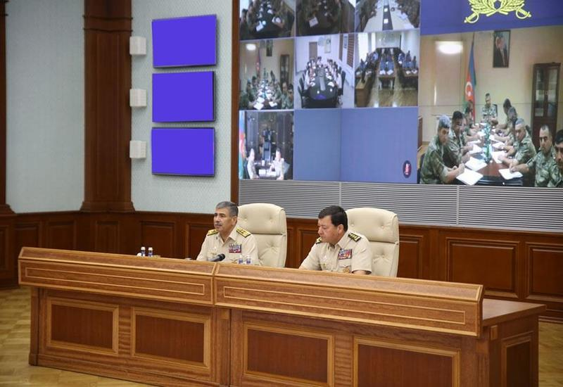 Закир Гасанов усиляет контроль над оперативной обстановкой на фронте