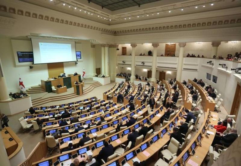 Депутаты устроили потасовку в грузинском парламенте